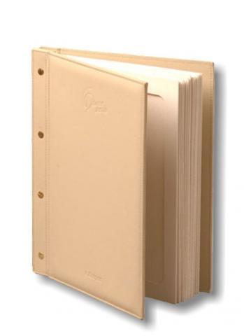 папка меню с бумажными файлами