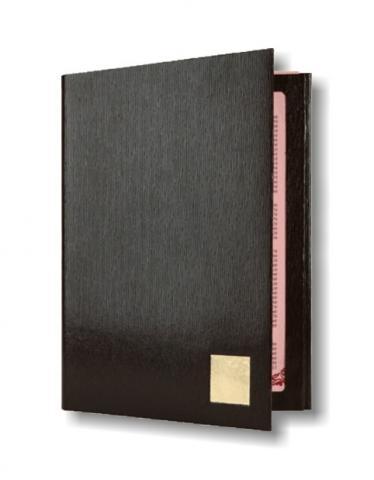 Папка меню картонная